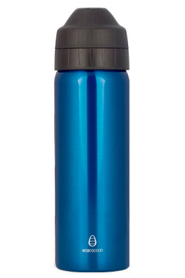 Ecococoon Drink Bottle 600ml - Blue Topaz - BabyBento