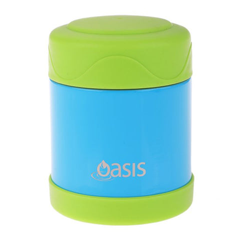 Oasis Insulated Kids Food Flask 300ml - Blue/Green