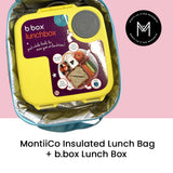 MontiiCo Insulated Lunch Bag - Camouflage