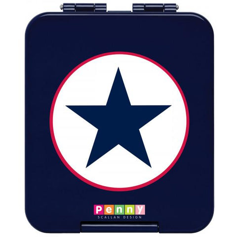 Bento Box Mini - Navy Star - Baby Bento