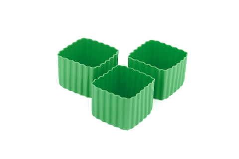 Bento Cups Square - Medium Green - PRE ORDER