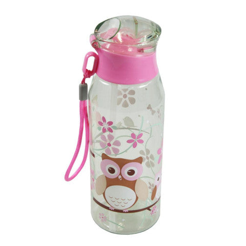 Bobbleart Drink Bottle with Straw - Owl - Baby Bento