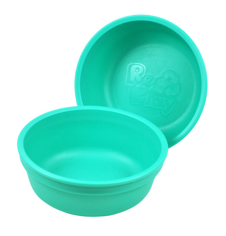 Re-Play Bowl - Aqua - BabyBento