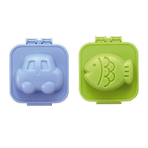 Egg Mold - Car & Fish - BabyBento