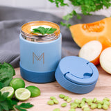 MontiiCo Insulated Food Jar - Slate
