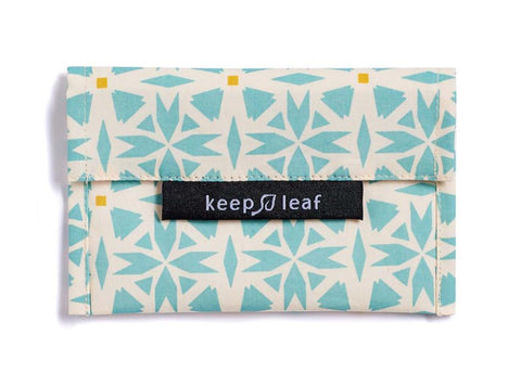 Keep Leaf Reusable Snack Bag - Geo