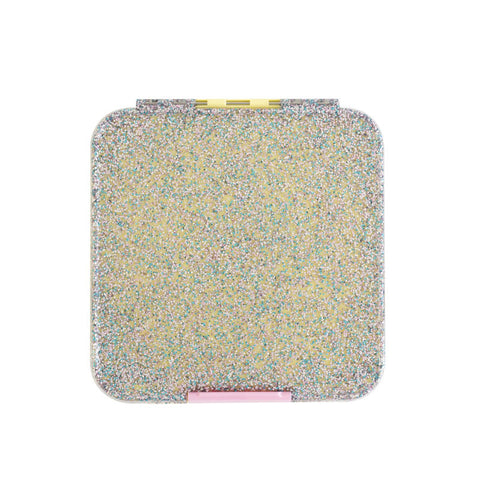 Little Lunch Box Co. Bento 5 - LIMITED EDITION Yellow Glitter