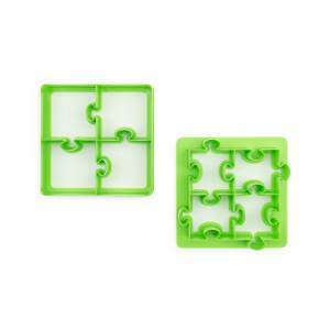 Lunch Punch Sandwich Cutter Pair - Puzzles