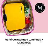 Montiico Insulated Lunchbag with Munchbox