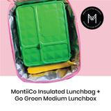 Montiico Insulated Lunchbag with Go Green Medium
