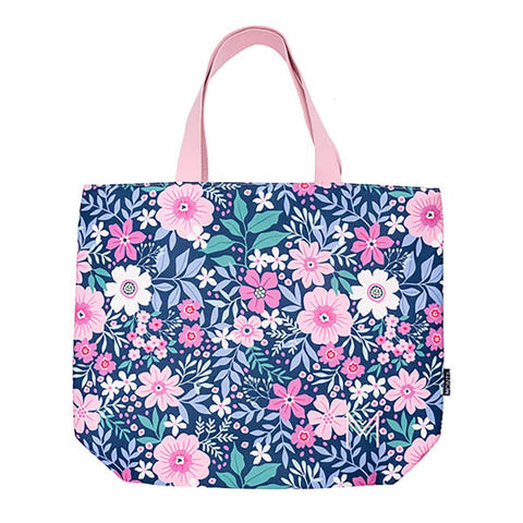 MontiiCo Insulated Tote Bag - Wildflower - Baby Bento