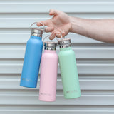 MontiiCo Insulated Drink Bottle - Eucalyptus