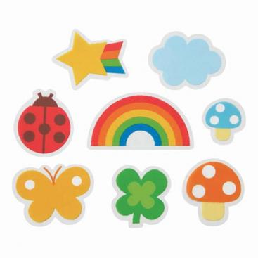 Lunch Box Dividers / Decorations - Happy