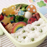 Lunch Box Dividers / Decorations - Happy - BabyBento
