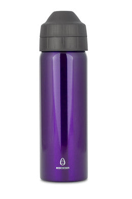 Ecococoon Drink Bottle 600ml - Purple Amethyst