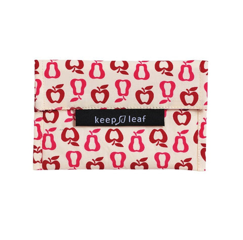 Keep Leaf Reusable Snack Bag - Fruit - BabyBento