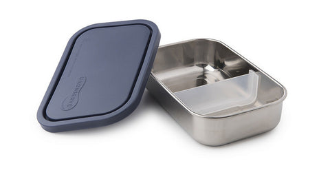 Stainless Steel Rectangle Lunch Box - Ocean