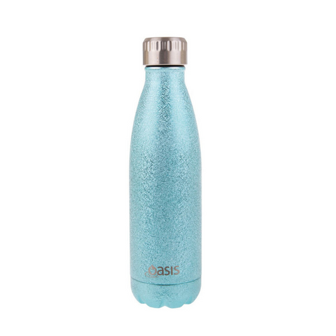 Oasis Stainless Steel Insulated Drink Bottle 500ml - Shimmer Aqua