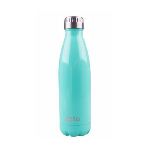 Oasis Stainless Steel Insulated Drink Bottle 500ml - Mint