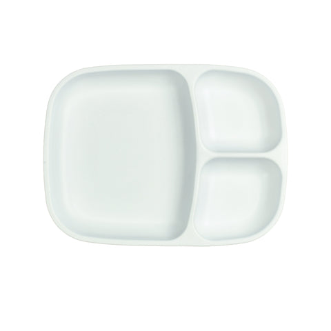 Re-Play Large Divided Plate - White