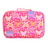 Go Green Lunch Box - Butterfly with Pink Box