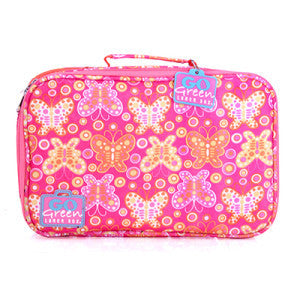 Go Green Lunch Box - Butterfly with Pink Box - PRE ORDER - BabyBento