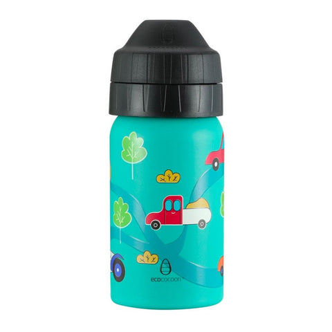 Ecococoon Drink Bottle 350ml - Cars