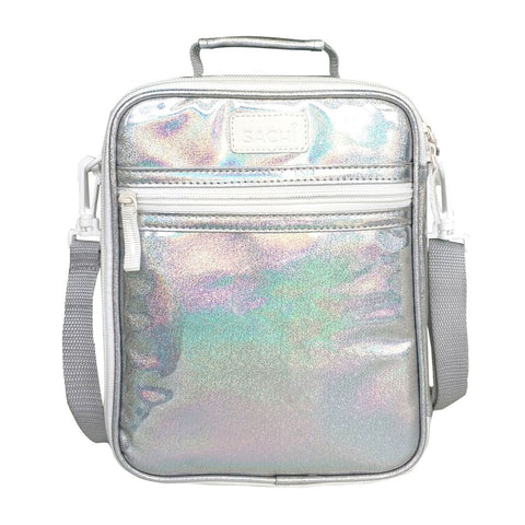 Sachi Insulated Lunch Bag - Silver Lustre