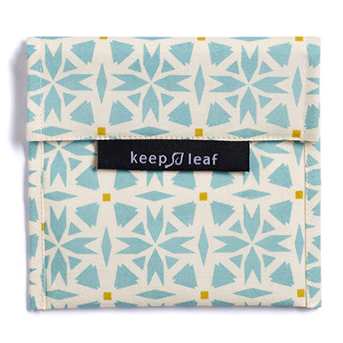 Keep Leaf Reusable Sandwich  Bag - Geo
