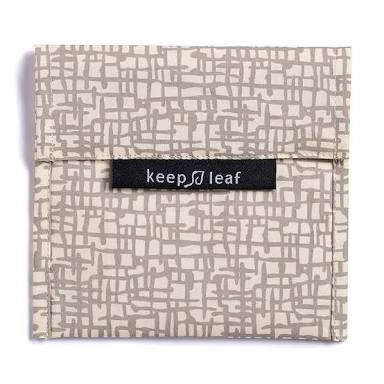 Keep Leaf Reusable Sandwich  Bag - Mesh - BabyBento
