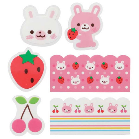 Lunch Box Dividers / Decorations - Bunny - BabyBento
