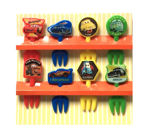 Disney Cars Fork Picks