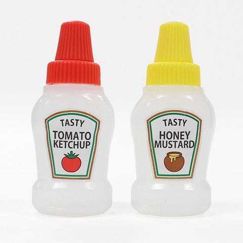 Tomato and Mustard Bottle