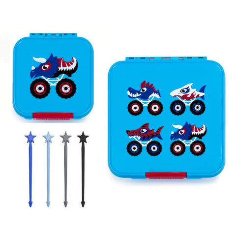 little lunchbox co monster truck package