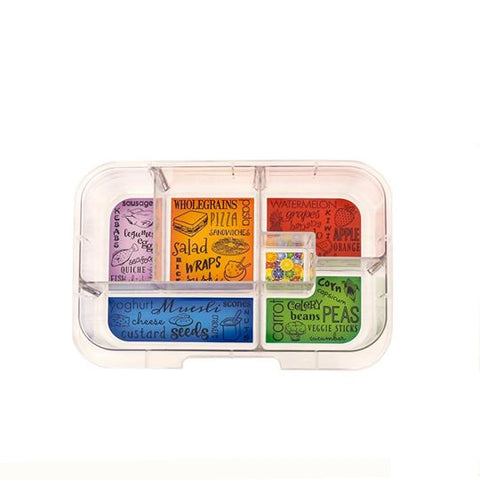 Munchbox - Maxi 6 tray - Art
