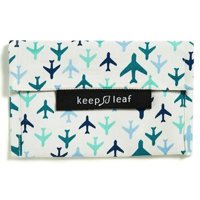 Keep Leaf Reusable Snack Bag - Planes - BabyBento