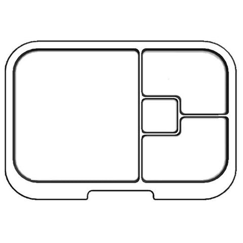 Munchbox - Mini 4 tray - Clear - PRE ORDER