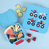 Monster Truck bento 3 Lunchbox Package