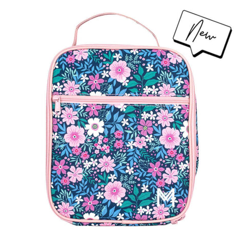 MontiiCo Insulated Lunch Bag - Wlid Flower - Baby Bento