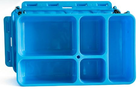 Go Green Small Snack Box - Blue