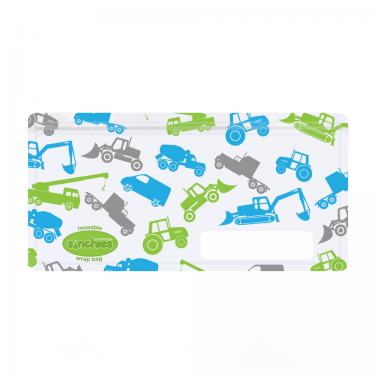 Sinchies Reusable Wrap Bag - Truck 5 pk