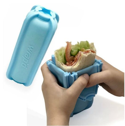Wrap'd - Silicone Wrap Holder - Blue