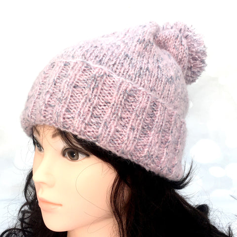 Luxe Alpaca Slouchy Hat, light, warm, handmade, knit, all sizes, lightweight, mum, gift, Knitted - Sparkly Pretty Things