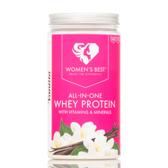 Stockists of All-In-One Whey Protein - 500g Banana / 500g (15 Servings)