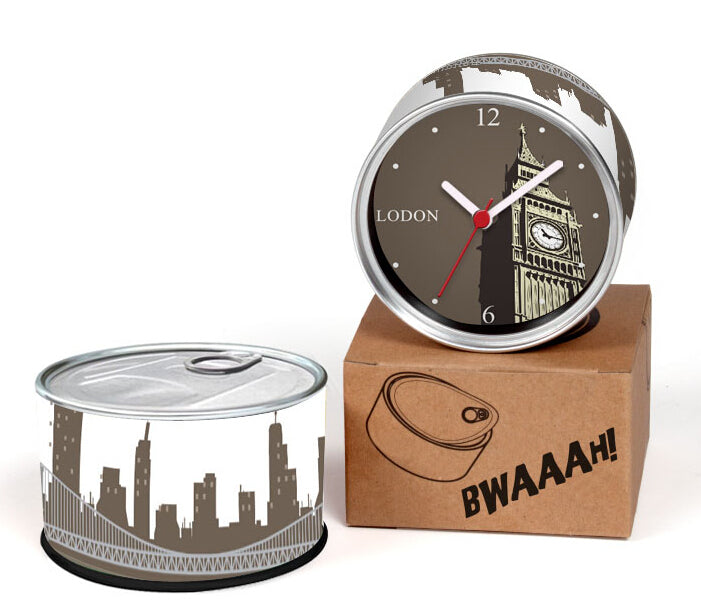 Only 6-10 Days Arrive To UK By E-Packet Air Shipping 2pcs/lot London Clock Big Ben Wall Clock Fridge Magnets Can Clock Gifts
