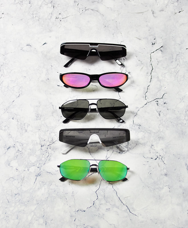 Balenciaga Sunglasses Blog Post Header Image