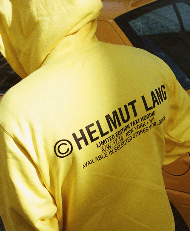 Helmut Lang Launches Second NYC Taxi Collection