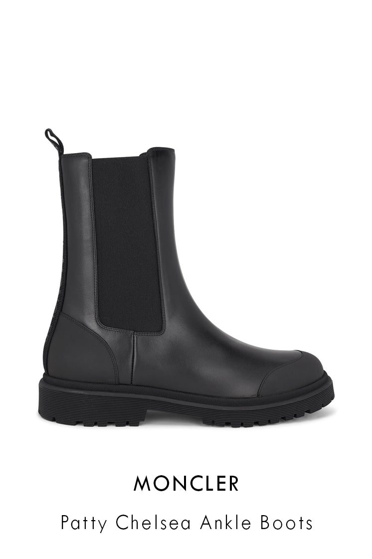 moncler patty chelsea ankle boots