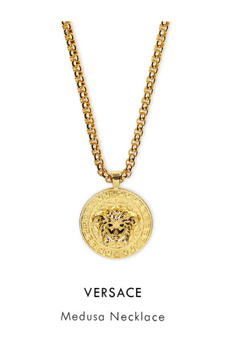 Versace Medusa Necklace in Gold