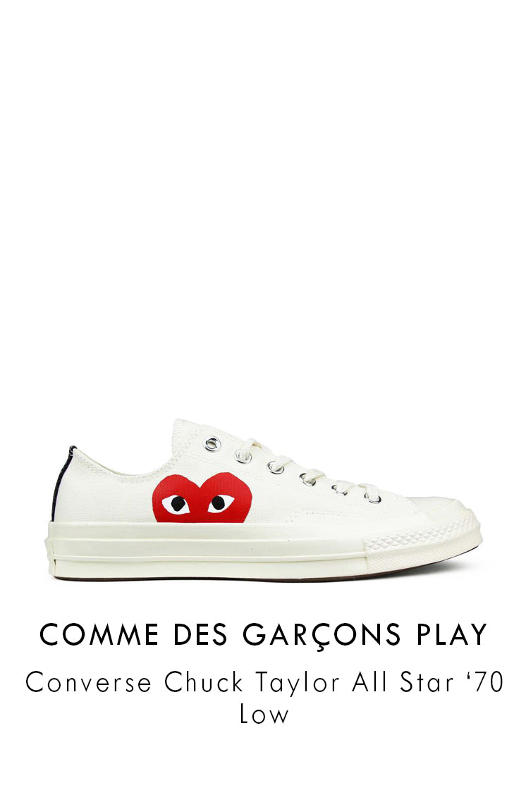 COMME DES GARÇONS PLAY Converse Chuck Taylor All Star '70 Low-Top Sneakers P1K1112